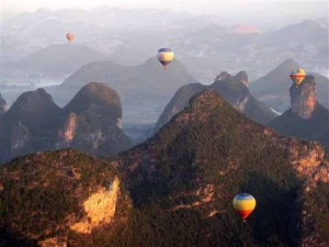 Hot Air Balloons in China