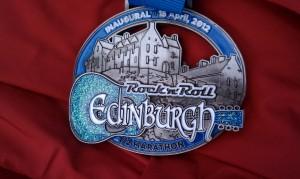 120415 RnR Edinburgh Half Medal