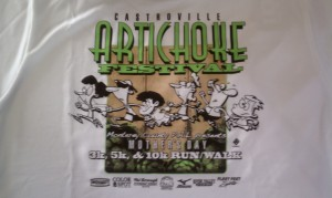 2012 Mother's Day Run T-Shirt
